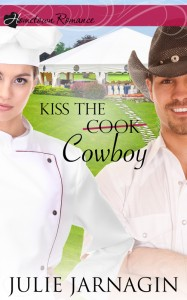 Kiss the Cowboy Julie Jarnagin Cover